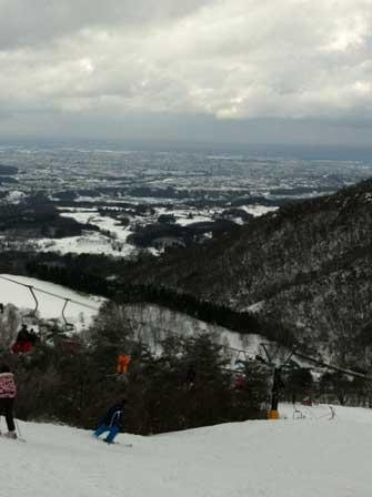 医王山スキー場の写真