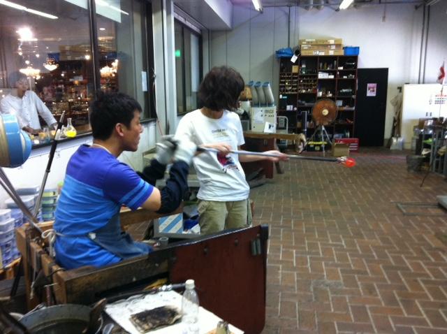 石川県加賀市にある世界のガラス館