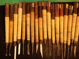 印刀はハンコを彫る道具