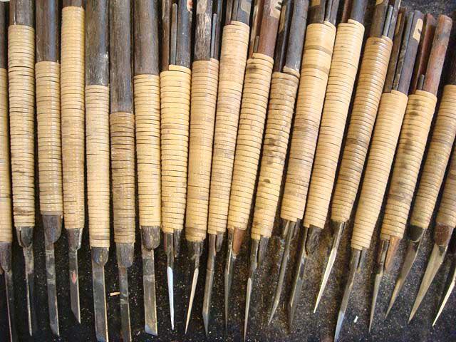 印刀はハンコを彫る道具です。