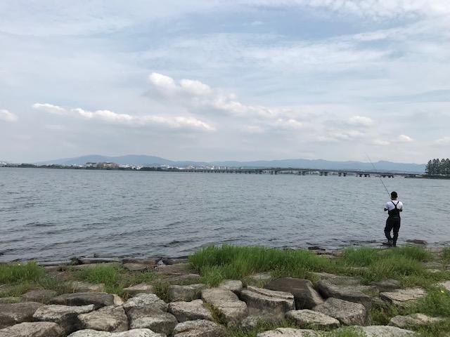 大津市の琵琶湖